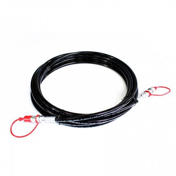 CO2 high pressure hose 3/8 Male - Female, 15m