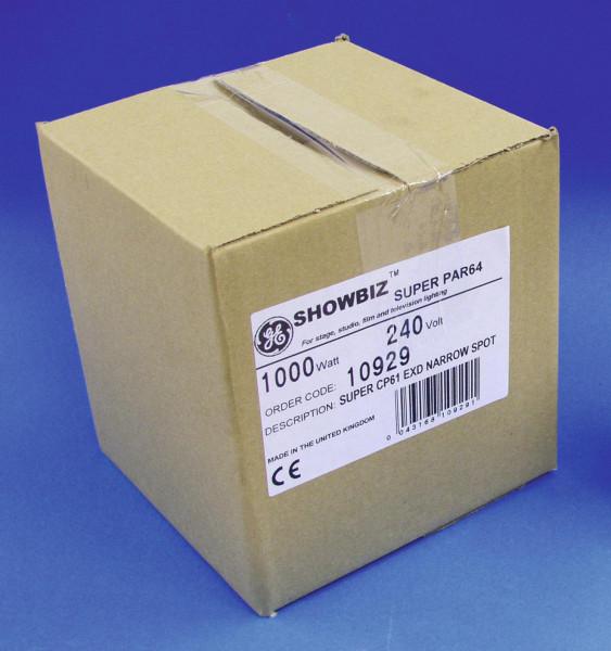 GE CP61 SUPER PAR 64 240V/1000W NSP 300h
