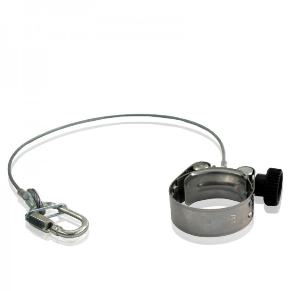 Cannon Clamp with certified safety cable