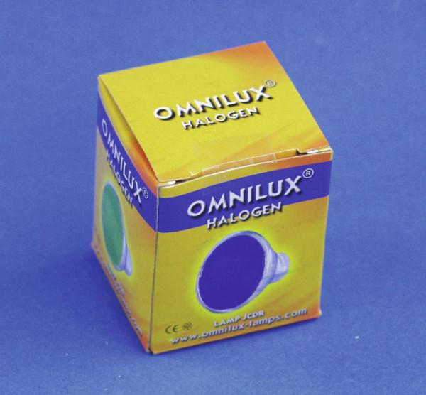 OMNILUX JCDR 230V/35W GX-5,3 1500h blau