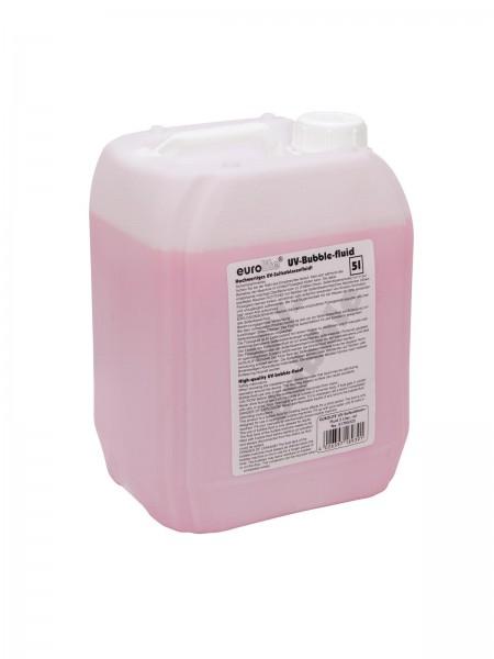 EUROLITE UV-Seifenblasenfluid 5l rot