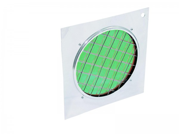 EUROLITE Dichro-Filter grün, Rahmen silber PAR-56