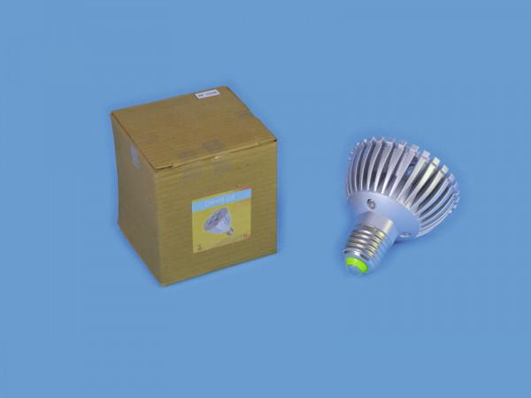 OMNILUX PAR-20 230V E-27 4x1 LEDs grün