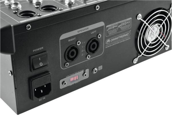 OMNITRONIC LS-822A Live-Power-Mixer