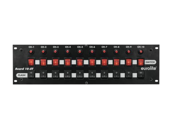 EUROLITE Board 10-ST 10x Schutzkontakt