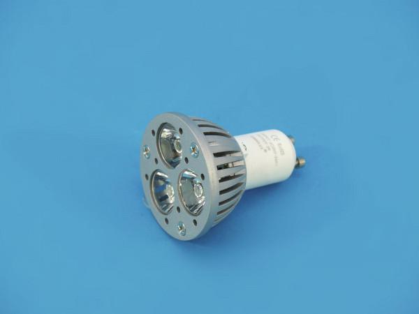 OMNILUX GU-10 230V 3x1W LED blau