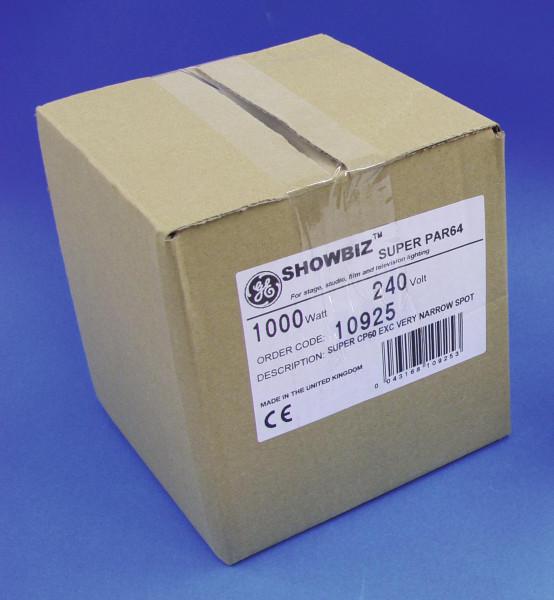 GE CP60 SUPER PAR 64 240V/1000W VNSP 300h