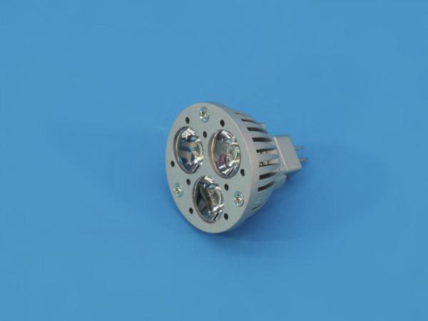 OMNILUX MR-16 12V GU-5,3 3x1W LED gelb