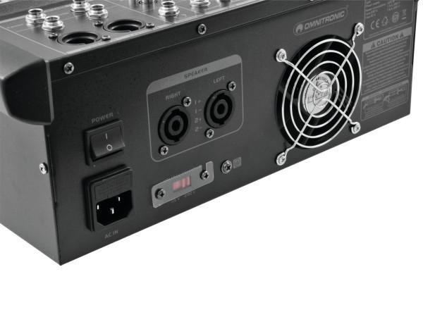 OMNITRONIC LS-622A Live-Power-Mixer