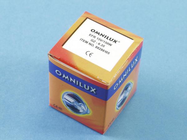 OMNILUX EFR 15V/150W GZ-6,35 500h Reflektor