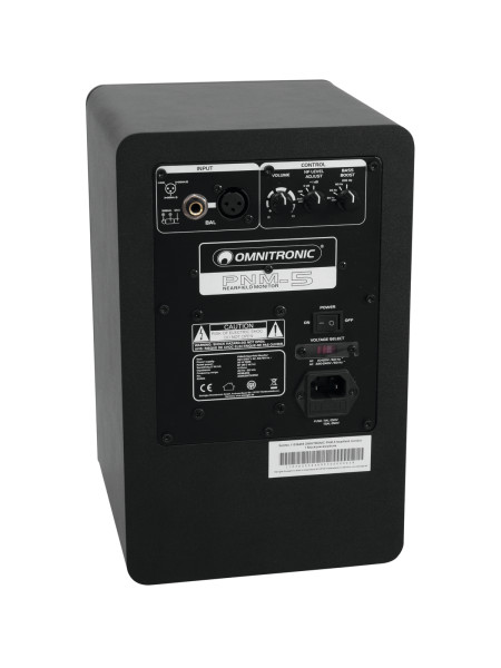 OMNITRONIC PNM-5 Nahfeld-Monitor