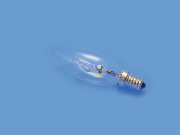 OMNILUX 230V/28W E-14 Kerzenlampe clear H