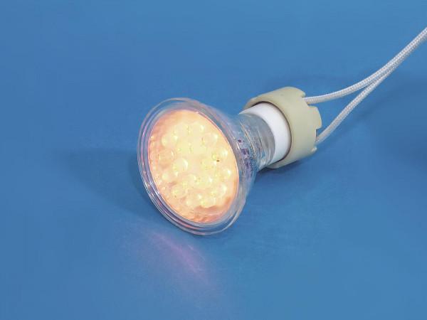 OMNILUX GU-10 230V 18 LED gelb