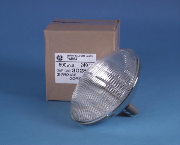 GE CP88 PAR-64 240V/500W MFL 300h