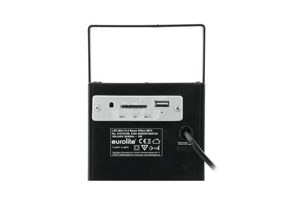 EUROLITE LED Mini D-4 Strahleneffekt MP3