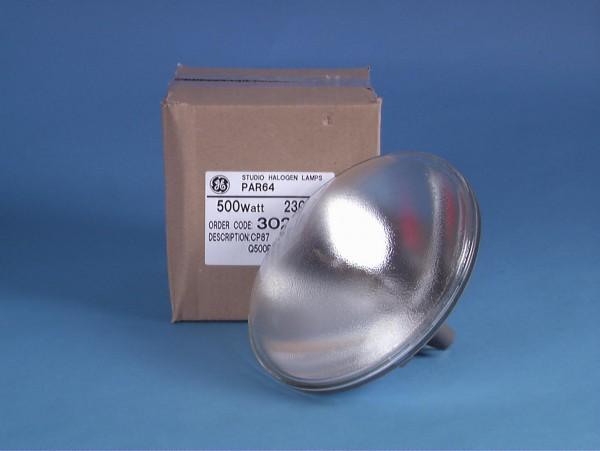 GE CP87 PAR-64 240V/500W NSP 300h