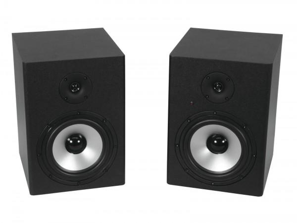 OMNITRONIC PME-8 Studio-Monitor 2x