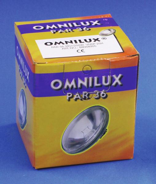 OMNILUX PAR-36 28V/250W VNSP 25h