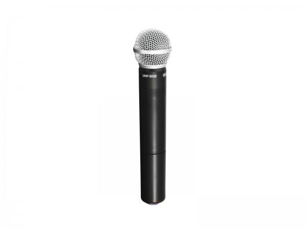 OMNITRONIC UHF-502 Handmikrofon 863-865MHz (CH B Blau)